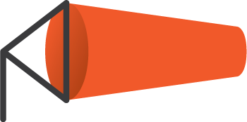 windsock logo